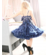 Navy Blue Pettiskirt