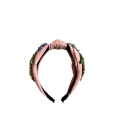 Deluxe Pink Multi Color Strass Hairband